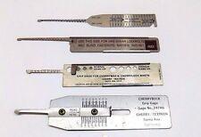 Mint 4 Pc Rivet Grip Gage Set Cherrymax Huck Lokfast Hi Lok Aircraft Tools