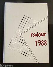 VINTAGE YEARBOOK / COLEGIO PUERTORRIQUEÑO DE NIÑAS / SANTURCE PUERTO RICO 1988