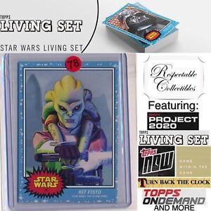 2020 Topps Star Wars Living Set - Card #76 Kit Fisto - The Clone Wars