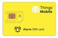 SIM Card Things Mobile per ALLARME e ANTIFURTO. Con 10 € di credito incluso