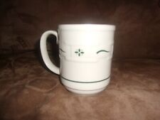 Longaberger 12 Ounce Mug - Heritage Green - Made in Usa