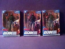 G.I. Joe Classified Cobra Trooper Cobra Island Army Lot Of 3 Figures Target