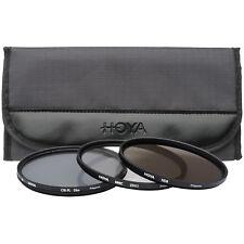 Hoya 77mm HMC UV / Circular Polarizer / ND8 3 Digital Filter Set with Pouch 77mm