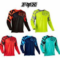 FOX Cycling Jersey Fahrradtrikot langarm Radtrikot Radshirt Thermo Fahrradshirt