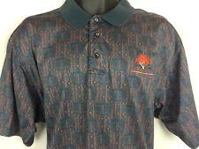 Nike Golf Golden Oaks Short Sleeve Polo Golf Cotton Shirt Men's Size L
