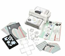 Sizzix Big Shot con Starter Kit Plus Fustelle motivo Garden Greens by Tim (y2y)