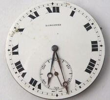 Longines Watch Movement And Dial  Sold for Parts - Ø 43mm - stem in the 3