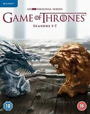 Game of Thrones - Season 1-7 Blu-ray - 2017 - Region Free