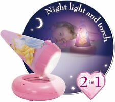 Go Glow Disney Princess Night Light and Detachable Torch Rechargeable