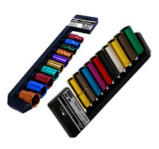 "1/2"" Deep Impact & Standard Socket Sets 20pc Multi Coloured 13mm - 24mm Kit"