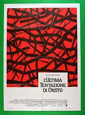 M71 MANIFESTO 2F  L'ULTIMA TENTAZIONE DI CRISTO MARTIN SCORSESE DAVID BOWIE