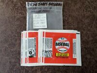 (1) 1974 Topps Baseball Wax Pack Wrapper - QTY Available