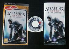 JEU Sony PSP : ASSASSIN'S CREED BLOODLINES (UbiSoft COMPLET envoi suivi)