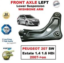 FRONT AXLE LEFT Lower Wishbone ARM for PEUGEOT 207 SW Estate 1.4 1.6 HDi 2007-on