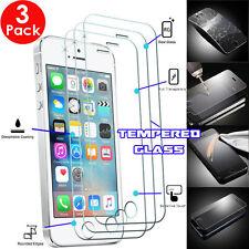 3 Pack de véritable verre trempé protecteur écran invisible bouclier pour iPhone SE