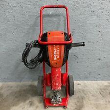 Hilti Te 3000-Avr w/ Cart Demolition Jack Hammer Concrete Breaker