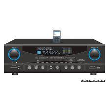 NEW Pyle PT4601AIU 500 Watt Stereo Receiver AM-FM Tuner/USB/SD/Ipod Docking