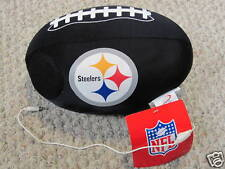 Pittsburgh Steelers iPod MP3 Speaker Football Neck Pillow Bed Travel Airplane
