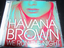 Havana Brown We Run The Night Australian 6 Track Remixes CD Single
