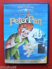 dvd peter pan le avventure di peter pan copia rara fuori catalogo 1 edizione f v