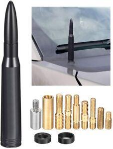 BULLET ANTENNA 50 CAL CALIBER for DODGE RAM 1500 FORD F150 F250 CHEVY SILVERADO