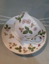 WILD STRAWBERRY WEDGEWOOD England  Cup and Saucer