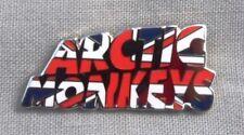Arctic Monkeys 'Union Jack' enamel badge. Miles Kane,Oasis,Pretty Green,Mod.
