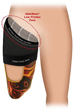 Above-Knee Amputee Prosthetic Brim Sheath by GlideWear. Protects Skin Medium
