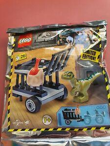 Lego Jurassic World 122010 Baby Dino Transport Poly Bag / Stocking Filler