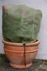 3x Medium Frost Protection Winter Fleece Jacket Cover Plant Protect 100cm x 80cm