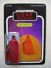 Vintage STAR WARS EMPEROR'S ROYAL GUARD UZAY SAVASCILARI CUSTOM BOOTLEG