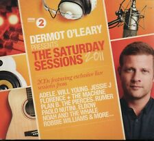 DERMOT O'LEARY PRESENTS THE SATURDAY SESSIONS 2011 - Various - 2xCD Album