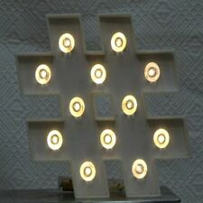 HASHTAG # Light Up Table/Wall Sign Marquee Free Standing PRICED CHEAP Stylish