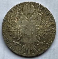 1780 Austria Maria Theresa Restrike Silver Thaler