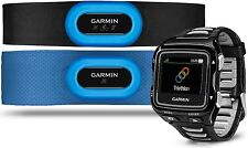 Garmin Forerunner 920XT Multisport Fitness Watch Triathlon Bundle w/ HRM Straps