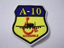 USAF PATCH A-10 WHEELCHAIR ACCESSIBLE:GA15-1