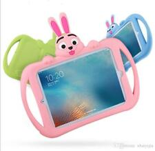 Kid Shockproof Cartoon Bunny Case with Stand Soft Silicon Protection
