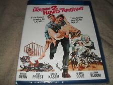 The Incredible 2-Headed Two-Headed Transplant BRAND NEW Kino Lorber Blu-ray