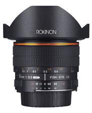 Rokinon 8mm F3.5 Fisheye Lens (Sony E)