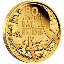 Perth Mint 80th Anniversary of the Battle of Britain 2020 1/4oz Gold Proof Coin