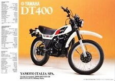 BROCHURE ORIGINALE YAMAHA DT250/ DT400 - Ediz.  1978
