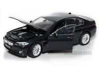 BMW 535i (F10) Saloon Black, Welly 24026, scale 1:24, model adult gift