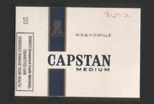 Old EMPTY cigarette packet early health warning, Capstan #231