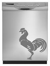 Rooster Elegant Decal Sticker Dishwasher Refrigerator Washing Machine Stove Dorm