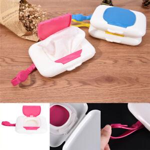 Baby Travel Wipe Case Child Wet Wipes Box Changing Dispenser Storage Holder Q Fn