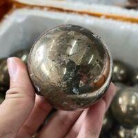 1pc Natural hematite Quartz sphere quartz Crystal Ball reiki Healing 50-60mm+