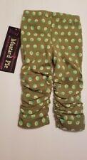 Nwt Mustard Pie Leila Legging. Green Polka Dot Pattern. Size 6M
