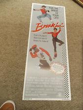 """BREAKIN (1984) LUCINDA DICKI ORIGINAL INSERT POSTER 14""""BY36""""+"""