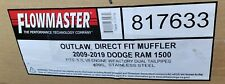 Flowmaster 817633 Outlaw Direct Fit Muffler 2009-2019 Dodge Ram 1500 5.7L NEW!!