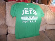 NEW---NFL FOOTBALL---Licensed Team T-Shirt---New York Jets---Adult Sz LG
